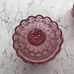 Vintage Kitchen - Vintage Cream & Sugar Holder Set